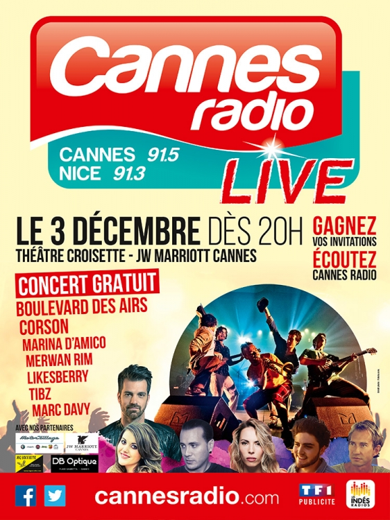 2015 - Live Cannes Radio