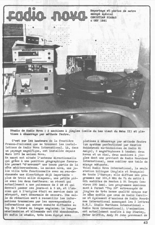 1981 Extrait de OEM page 1