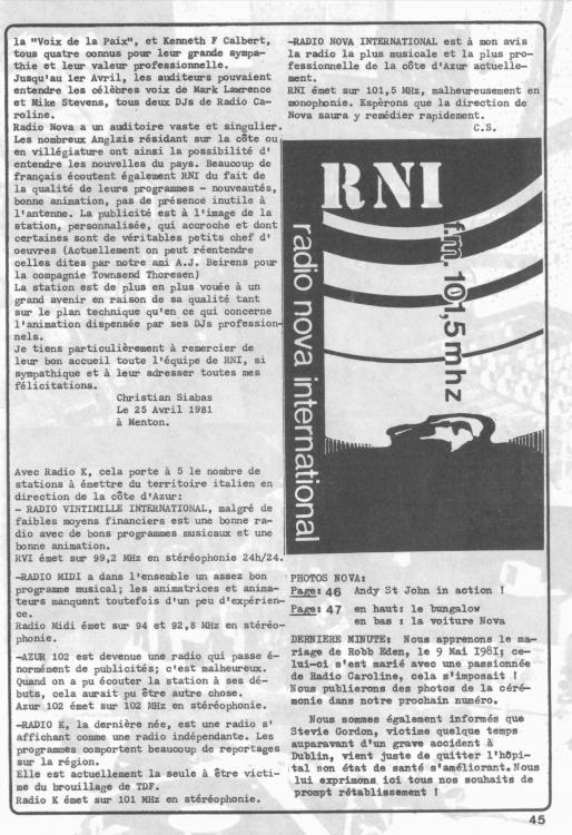 1981 Extrait de OEM page 2