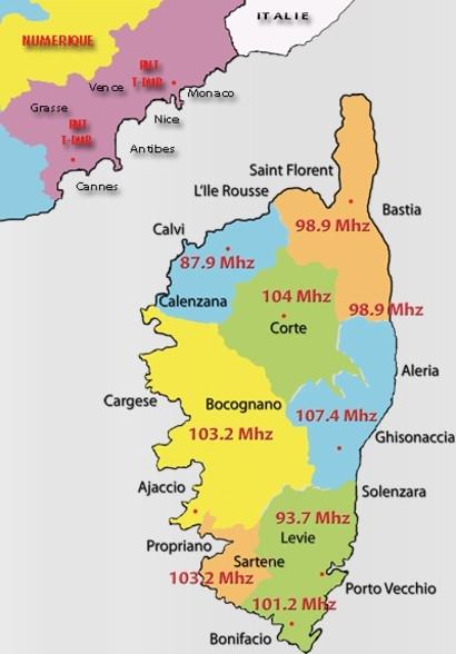 2012 - Les fréquences d'Alta Fréquenza