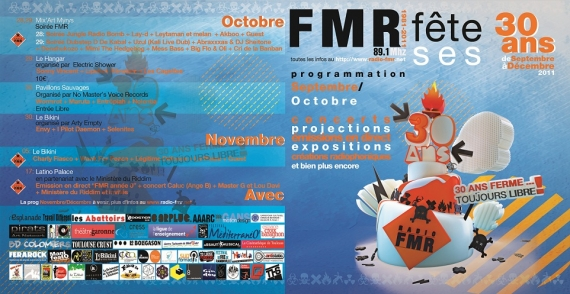 2011 - Programme des 30 ans
