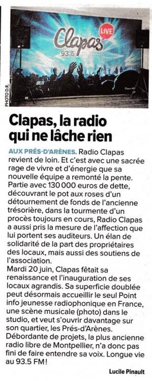 2017 - La Gazette de Montpellier en juin