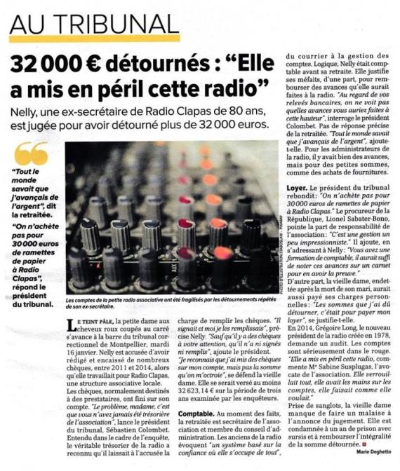 2018 - La Gazette de Montpellier en janvier