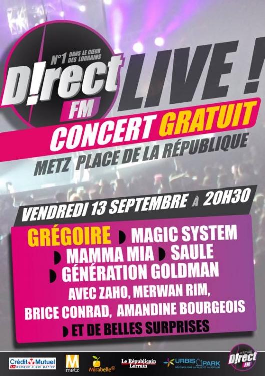 2013 - Concert de D!rect