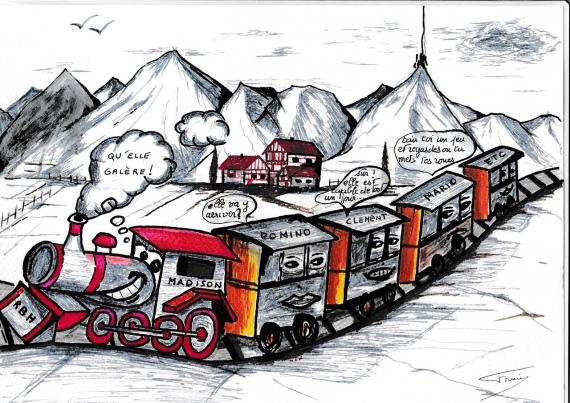 Le petit train RBH de Francis