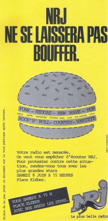 1985 - Appel à la manifestation