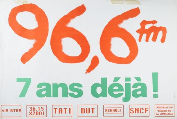 1986 - Affiche des 7 ans