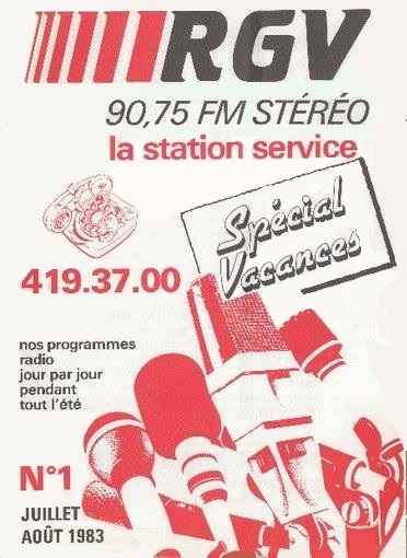 1982 - Programmes de Juillet - Août