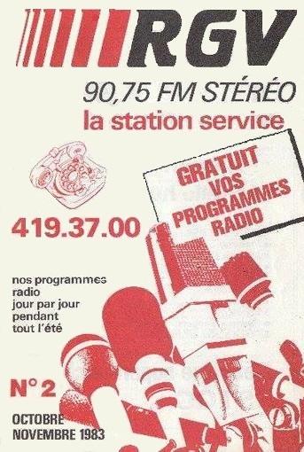 1982 - Programme de Octobre - Novembre