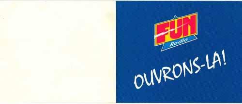 Carte de voeux 1995 (intérieur)