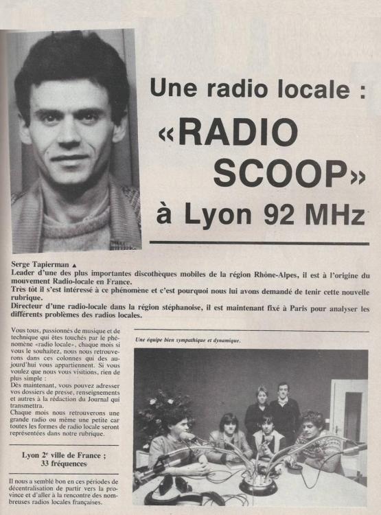 1982 - Sono magazine