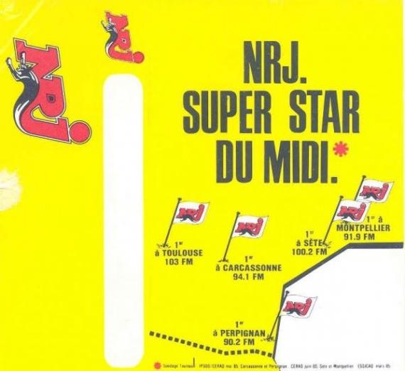 1985 sondage NRJ Midi