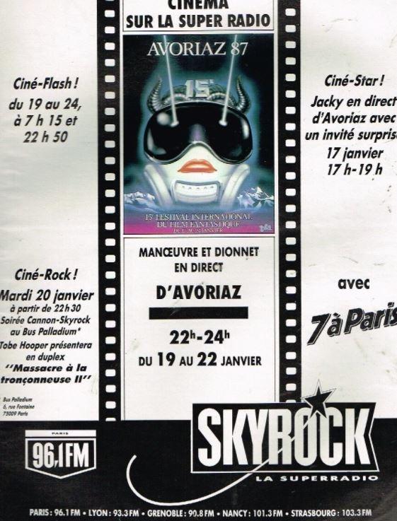 1987 - festival d Avoriaz