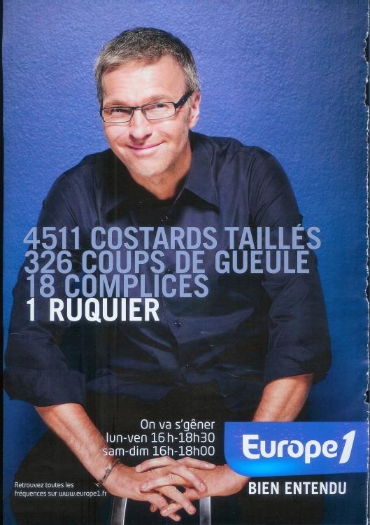2010 - Lauent RUQUIER