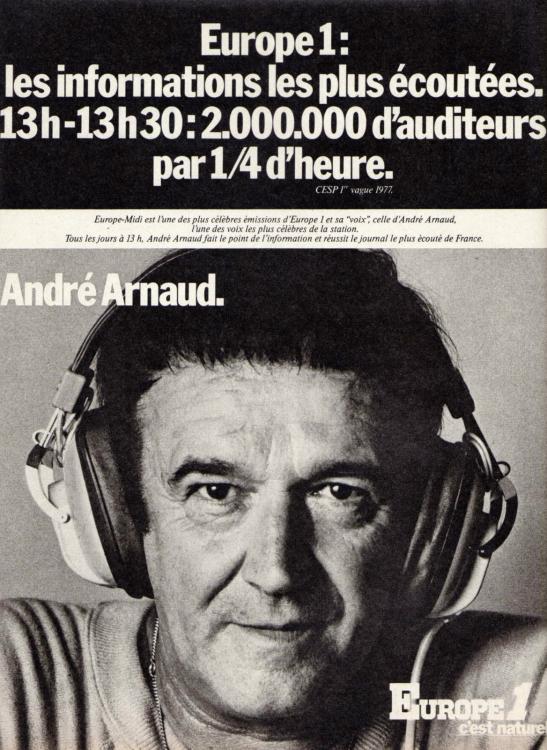 1977 - Andr�� ARNAUD
