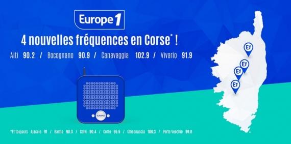 2016 - Nouvelles fréquences en Corse