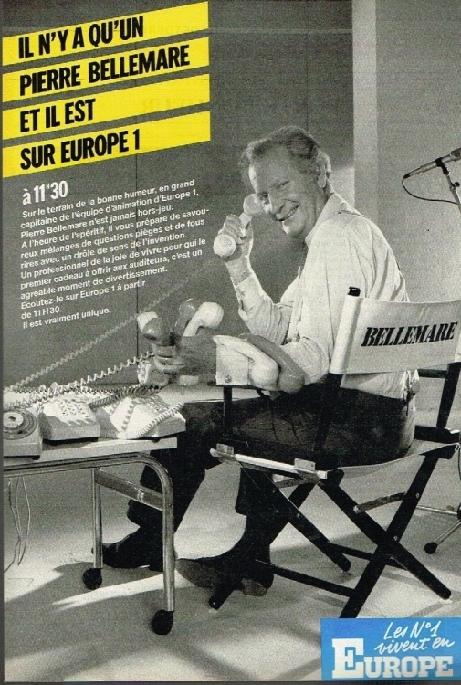 1984 - Pierre BELLEMARE