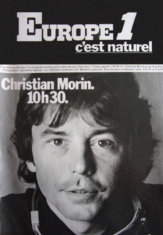 1977 - Christian MORIN