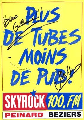 1993 - d��dicac�� par Malher - Radio Peinard B��ziers