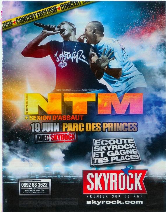 2010 - Pub Skyrock - NTM