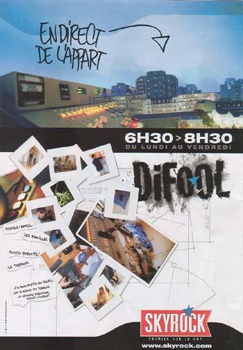 2001 - Difool en direct de l'appart