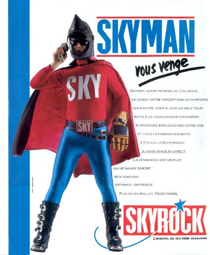 1988 - Skyman (Guillaume FAYE)