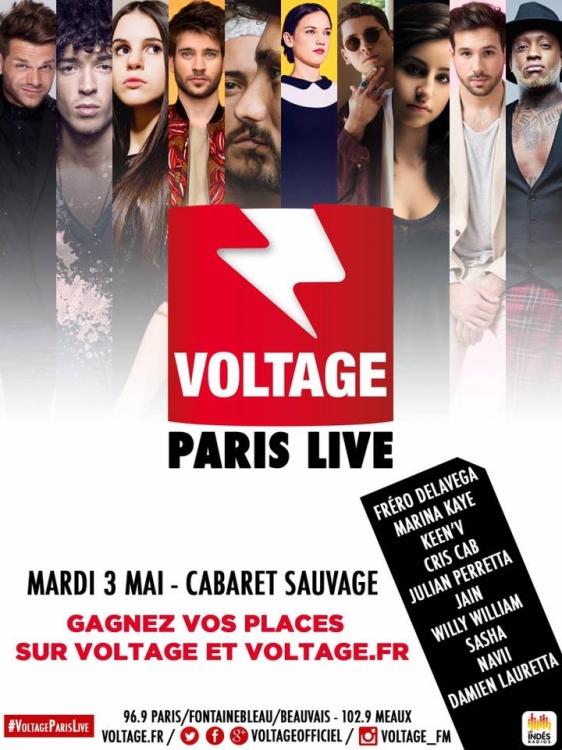 2016 - Voltage Paris Live